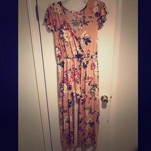 Pants - Peach Blossom Romper/Dress